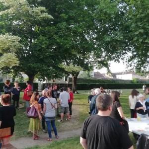 Concert aux Jardins partagés