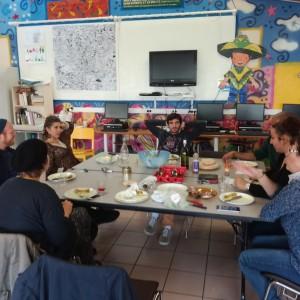 Repas au Centre social Jean Moulin