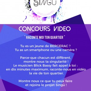 affiche concours vidéo BERGERAC