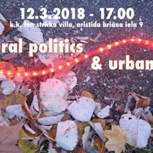 Cultural politics and urbanity Riga 120318